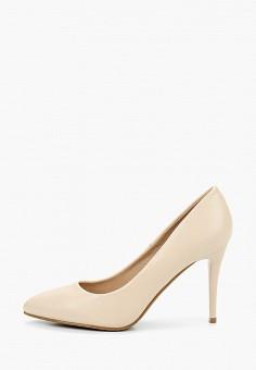 Туфли, Betsy, цвет: бежевый. Артикул: BE006AWIHUL4. Обувь / Туфли / Лодочки