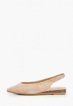 Туфли, Betsy, цвет: бежевый. Артикул: BE006AWIHUR1. Обувь / Туфли