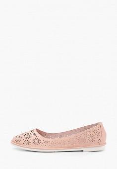Балетки, Betsy, цвет: розовый. Артикул: BE006AWIHUR5. Обувь / Балетки
