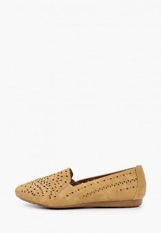 Лоферы, Betsy, цвет: бежевый. Артикул: BE006AWIHUS3. Обувь / Туфли / Лоферы