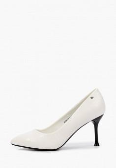 Туфли, Betsy, цвет: белый. Артикул: BE006AWIHWU6. Обувь / Туфли / Лодочки