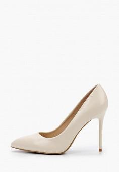 Туфли, Betsy, цвет: белый. Артикул: BE006AWIHWV2. Обувь / Туфли / Лодочки