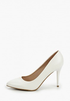 Туфли, Betsy, цвет: белый. Артикул: BE006AWIZIY2. Обувь / Туфли / Лодочки
