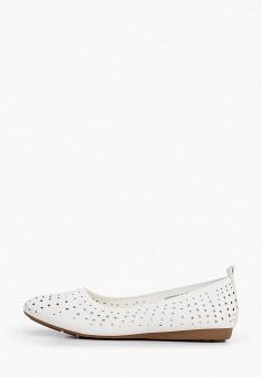 Балетки, Betsy, цвет: белый. Артикул: BE006AWIZIY7. Обувь