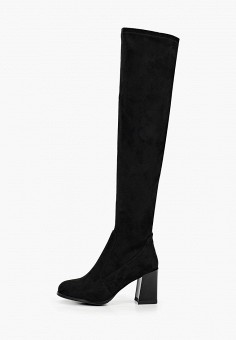 Ботфорты, Betsy, цвет: черный. Артикул: BE006AWKDEG7. Обувь / Сапоги / Ботфорты