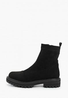 Ботинки, Betsy, цвет: черный. Артикул: BE006AWKDJJ9. Обувь / Ботинки / Высокие ботинки