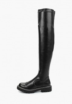 Ботфорты, Betsy, цвет: черный. Артикул: BE006AWKDJK1. Обувь / Сапоги / Ботфорты