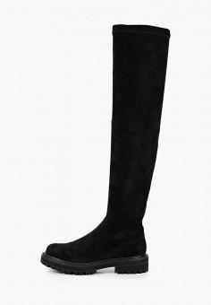 Ботфорты, Betsy, цвет: черный. Артикул: BE006AWKDJK2. Обувь / Сапоги / Ботфорты
