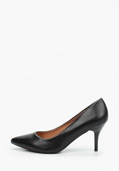 Туфли, Betsy, цвет: черный. Артикул: BE006AWKDJN4. Обувь / Туфли / Лодочки