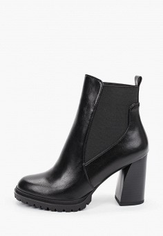 Ботильоны, Betsy, цвет: черный. Артикул: BE006AWKDJN8. Обувь / Ботильоны