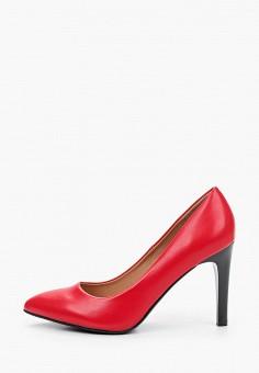 Туфли, Betsy, цвет: красный. Артикул: BE006AWKDJO9. Обувь / Туфли / Лодочки