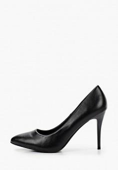 Туфли, Betsy, цвет: черный. Артикул: BE006AWKDJP1. Обувь / Туфли / Лодочки