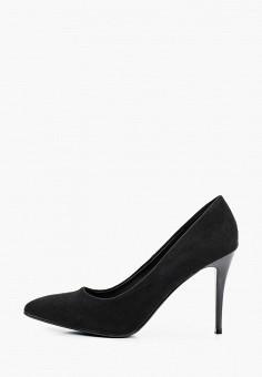 Туфли, Betsy, цвет: черный. Артикул: BE006AWKDJP2. Обувь / Туфли / Лодочки