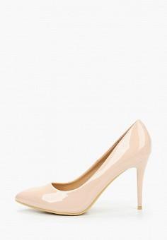 Туфли, Betsy, цвет: бежевый. Артикул: BE006AWKDJP3. Обувь / Туфли / Лодочки