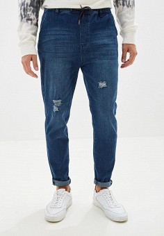 Джинсы, Befree, цвет: синий. Артикул: BE031EMFWIZ5. Одежда / Джинсы / Зауженные джинсы