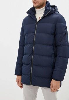 Куртка утепленная, Befree, цвет: синий. Артикул: BE031EMFWIZ8. Одежда / Верхняя одежда / Демисезонные куртки