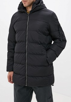 Куртка утепленная, Befree, цвет: черный. Артикул: BE031EMFWIZ9. Одежда / Верхняя одежда / Пуховики и зимние куртки / Зимние куртки