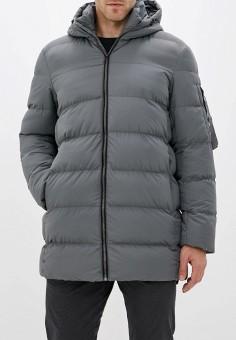 Куртка утепленная, Befree, цвет: серый. Артикул: BE031EMFWJA2. Одежда / Верхняя одежда / Пуховики и зимние куртки / Зимние куртки