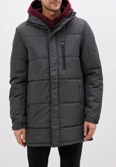 Куртка утепленная, Befree, цвет: серый. Артикул: BE031EMHDTT0. Одежда / Верхняя одежда / Пуховики и зимние куртки / Зимние куртки