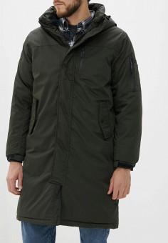Куртка утепленная, Befree, цвет: хаки. Артикул: BE031EMHDTT8. Одежда / Верхняя одежда / Пуховики и зимние куртки