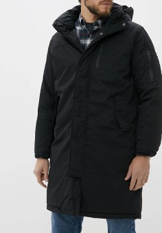 Куртка утепленная, Befree, цвет: черный. Артикул: BE031EMHDTT9. Одежда / Верхняя одежда / Пуховики и зимние куртки / Зимние куртки