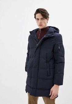 Куртка утепленная, Befree, цвет: синий. Артикул: BE031EMHYJN4. Одежда / Верхняя одежда / Пуховики и зимние куртки / Зимние куртки