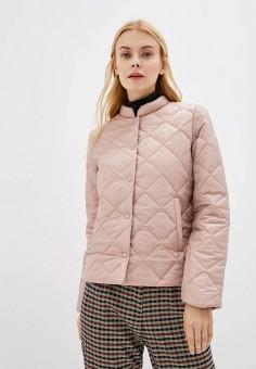 Куртка утепленная, Befree, цвет: розовый. Артикул: BE031EWFOPS8. Одежда / Верхняя одежда / Демисезонные куртки