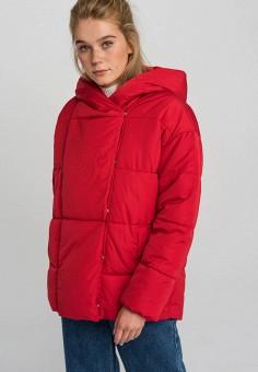 Куртка утепленная, Befree, цвет: красный. Артикул: BE031EWHCPR0. Одежда / Верхняя одежда