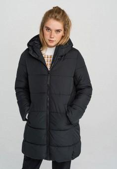 Куртка утепленная, Befree, цвет: черный. Артикул: BE031EWHCPR7. Одежда / Верхняя одежда / Демисезонные куртки