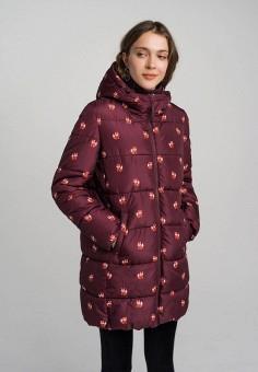 Куртка утепленная, Befree, цвет: бордовый. Артикул: BE031EWHCPR8.