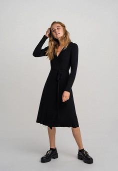 Платье, Befree, цвет: черный. Артикул: BE031EWHCPS5.
