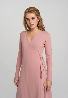 Платье, Befree, цвет: розовый. Артикул: BE031EWHCPS8.