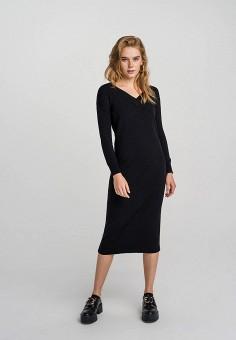 Платье, Befree, цвет: черный. Артикул: BE031EWHCPT5.