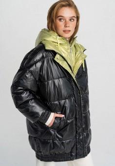 Куртка утепленная, Befree, цвет: черный. Артикул: BE031EWHCPU8. Одежда / Верхняя одежда / Демисезонные куртки