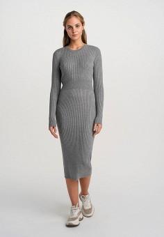 Платье, Befree, цвет: серый. Артикул: BE031EWHCPW0.
