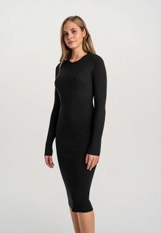 Платье, Befree, цвет: черный. Артикул: BE031EWHCPW1.