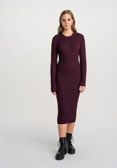 Платье, Befree, цвет: бордовый. Артикул: BE031EWHCPW2.