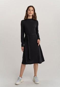 Платье, Befree, цвет: черный. Артикул: BE031EWHCPW4.