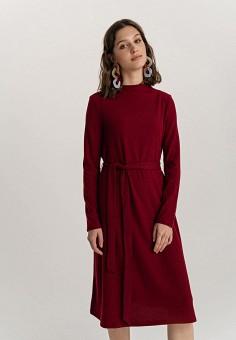 Платье, Befree, цвет: бордовый. Артикул: BE031EWHCPW6.