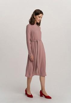 Платье, Befree, цвет: розовый. Артикул: BE031EWHCPW7.