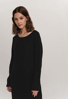 Платье, Befree, цвет: черный. Артикул: BE031EWHCPZ1.