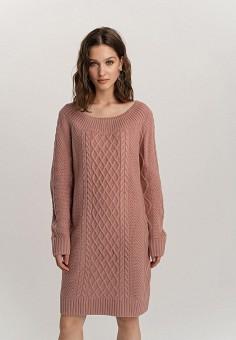 Платье, Befree, цвет: розовый. Артикул: BE031EWHCPZ4.