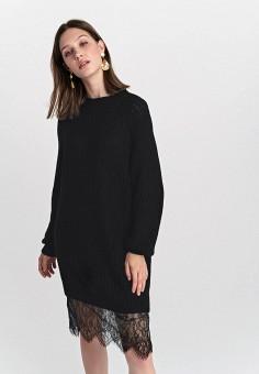 Платье, Befree, цвет: черный. Артикул: BE031EWHCPZ6.