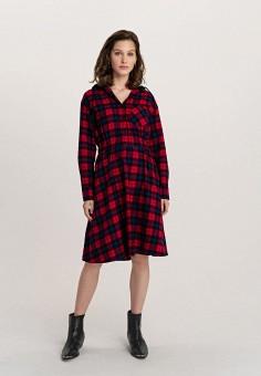 Платье, Befree, цвет: красный. Артикул: BE031EWHCQA0.