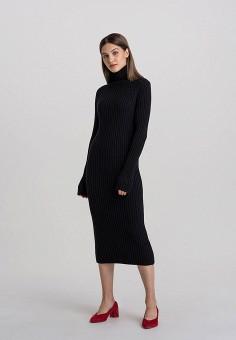 Платье, Befree, цвет: черный. Артикул: BE031EWHCQA7.