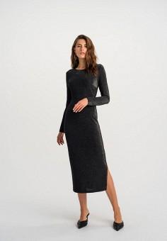 Платье, Befree, цвет: черный. Артикул: BE031EWHCQC3.