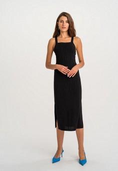 Платье, Befree, цвет: черный. Артикул: BE031EWHCQC8.