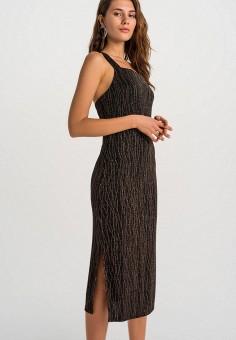 Платье, Befree, цвет: черный. Артикул: BE031EWHCQD1.