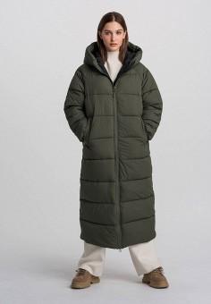 Куртка утепленная, Befree, цвет: хаки. Артикул: BE031EWHCQF4.