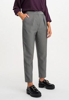 Брюки, Befree, цвет: серый. Артикул: BE031EWHXJH7. Одежда / Брюки / Классические брюки